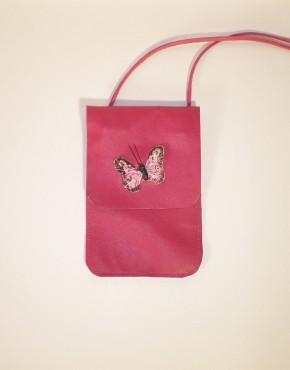Tas Veren Vlinder Roze Voorkant